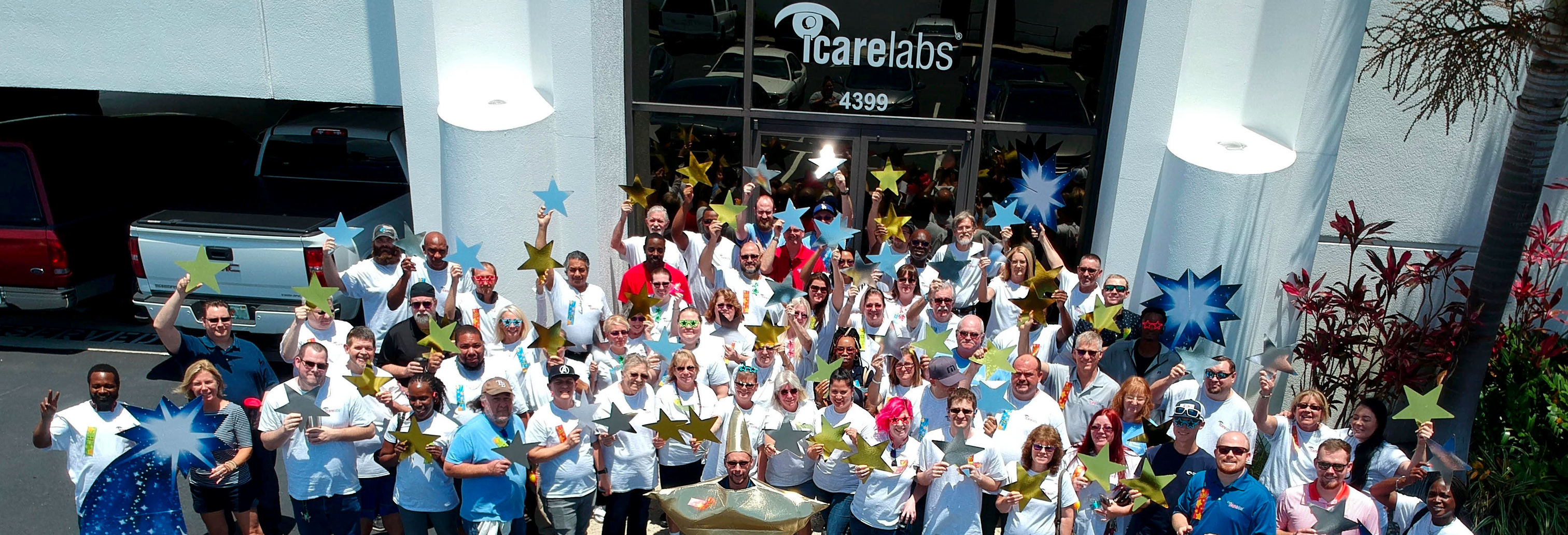 The IcareLabs family is here for your optical!